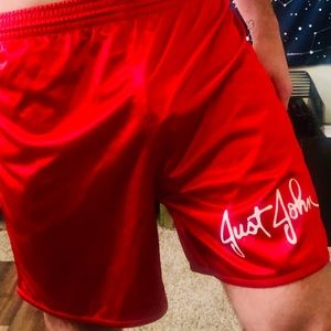 Other - Classic Red Just John Athletic Shorts